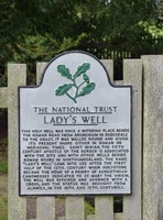 Sign at Lady's Well