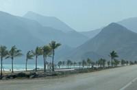 Coast road near Salalah