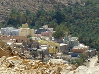 Village near Wadi Bani Khalid