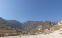 Mountain landscape near Salalah
