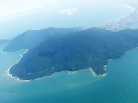 After take-off from Danang