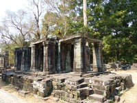 Library at Banteay Kdei