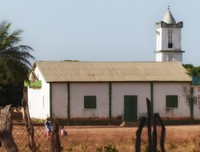 The village church, Kubuneh