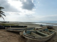 The beach at Taqah