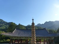 Pohyon Temple, Mount Myohyang - Sokka Pagoda