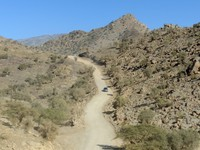 The road up Jebel Shams