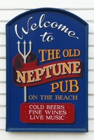 Sign on the Old Neptune, Whitstable