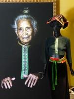 Portrait of a Thai woman, Precious Heritage Museum