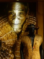 Portrait of a Co Tu man, Precious Heritage Museum