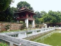 Khue Van pavilion and Thien Quang, Temple of Literature