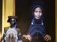 Portrait of a Ha Nhi woman, Precious Heritage Museum