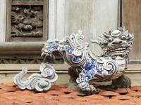 On the gate of Tao Sach, Hanoi