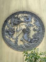 On a building at Tao Sach, Hanoi