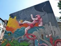 Street art in Kapana, Plovdiv