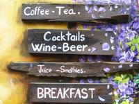 Hoi An cafe sign