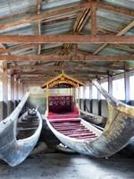 Royal barges at the Royal Palace