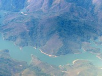 Flying over Laos