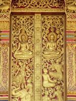 Door, Wat Nong Sikhounmuang