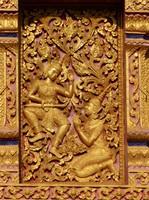 Detail of Wat Nong Sikhounmuang