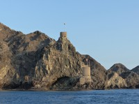 Watchtowers from the sea