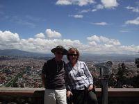 At the Mirador de Turi - Cuenca