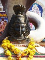 In Chowara village - Hindu shrine