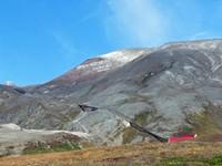 Mount Paektu with funicular