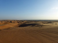 Waiting for sunset, Wahiba Sands
