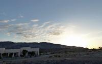 Jebel Shams Resort at sunrise