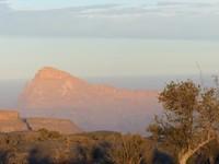 Jebel Misht at sunrise
