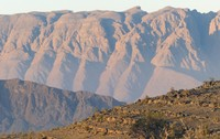 Jebel Shams, after the sun rose
