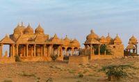 Vyas Chhatri at sunset - Jaisalmer