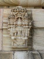 Jain Temple detail - Chittaurgarh