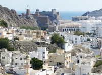 View of the old city, Muscat