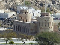 Muscat's restored city gate
