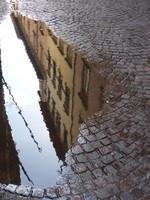 Reflection on Via Fillungo