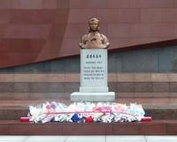 The Revolutionary Martyrs Cemetery - memorial to Kim Jong Suk