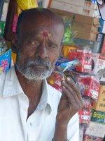 Shopper in Munnar market
