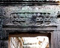Lintel detail at the Bayon, Angkor Thom