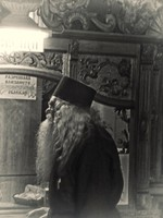 Priest in the Cathedral Church of the Assumption of the Virgin Mary, Bachkovo Monastery