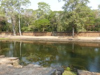 Royal Palace swimming pool, Angkor Thom