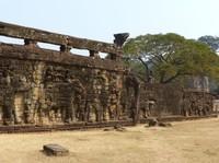The Elephant Terrace, Angkor Thom