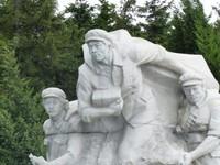 The Revolutionary Martyrs Cemetery - revolutionary fighters