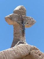 Church roof, Toconao, Atacama Desert
