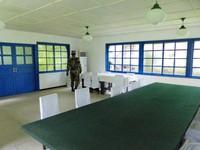 In the Armistice Talks Hall in the DMZ
