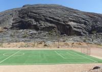 From the road through Wadi Bani Awf