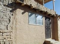 Restored house in Acoma