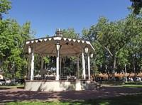 Gazebo in the Old Town Plaza, Albuquerque
