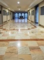 Corridor of the Haifa House Hotel, Salalah
