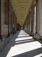 Royal Naval College colonnade